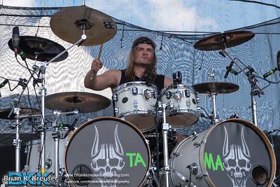 Trivium at Fort Rock 2016