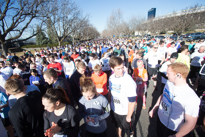 1503-19 060  1503-19 Rex Lee Run  The annual Rex Lee Run against cancer  March 07, 2015  Photo by:  Todd Wakefield/BYU  © BYU PHOTO 2015 All Rights Reserved photo@byu.edu  (801)422-7322