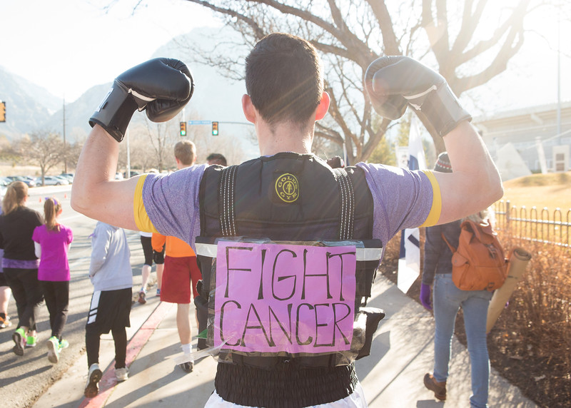 1503-19 046  1503-19 Rex Lee Run  The annual Rex Lee Run against cancer  March 07, 2015  Photo by:  Todd Wakefield/BYU  © BYU PHOTO 2015 All Rights Reserved photo@byu.edu  (801)422-7322