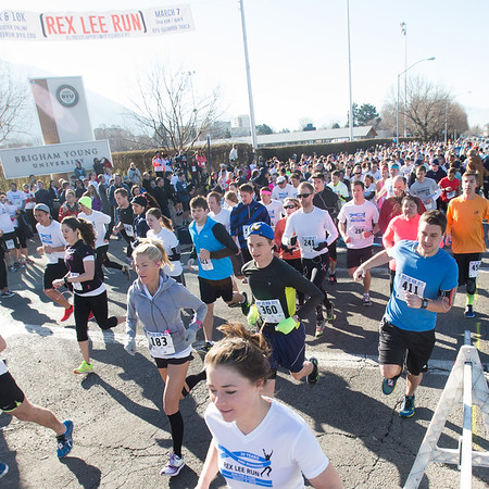 1503-19 029  1503-19 Rex Lee Run  The annual Rex Lee Run against cancer  March 07, 2015  Photo by:  Todd Wakefield/BYU  © BYU PHOTO 2015 All Rights Reserved photo@byu.edu  (801)422-7322