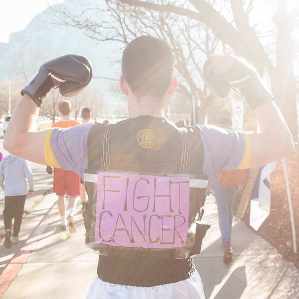 1503-19 050  1503-19 Rex Lee Run  The annual Rex Lee Run against cancer  March 07, 2015  Photo by:  Todd Wakefield/BYU  © BYU PHOTO 2015 All Rights Reserved photo@byu.edu  (801)422-7322