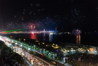 2017_12_01, Fireworks, Abu Dhabi