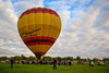 AZ-Yuma, Hot Air Balloon Festival-2011-11-20-212<br /> <br /> Ready to take Passengers up for a tethered ride.