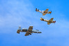 P51-D Mustang, P-40 and A-10 Thunderbolt II