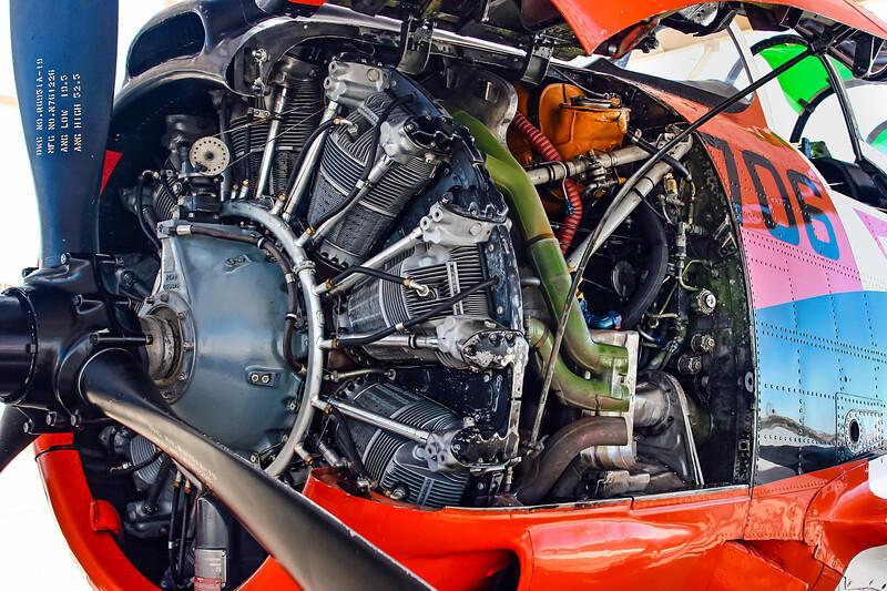 T-28 Trojan-Engine