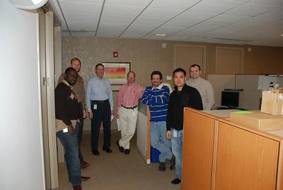 Lucien, Mark, Bob, Lou, Joe, Victor and Andrey