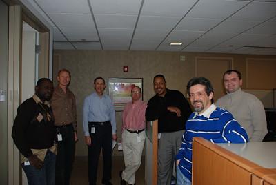 Lucien, Mark, Bob, Lou, Vince, Joe and Andrey