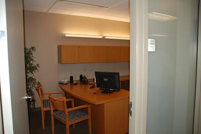 John's empty office