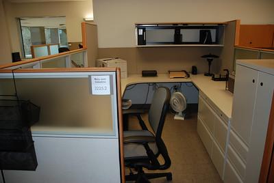 MaryJean's empty desk