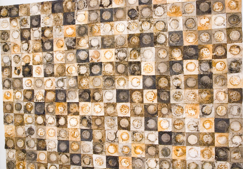 Artist - Jeffrey Allen Price - yes this piece is composed of coffee filters!!