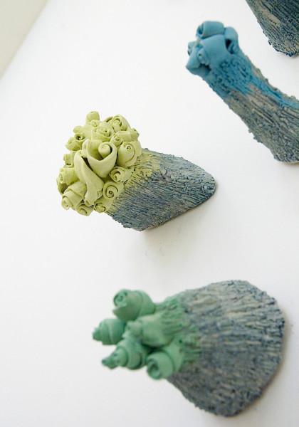 Ceramic pieces- Jennifer Goie-Peper