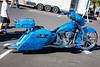 Motorcycle in Blue