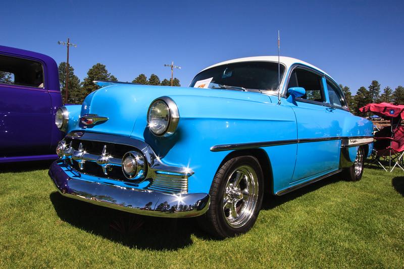 1953 Chevy-Bel Air-Sedan