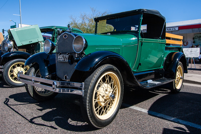 1929 Ford Model-A Roadster Pickup