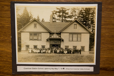 """Cowichan Station School - 100 Year Reunion - Cowichan Station, Vancouver Island, BC, Canada Visit our blog """"Cowichan Station School - 100 Years Later"""" for the story behind the photos."""