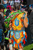This is a Colorful Costume.<br /> Many of the ladies wore their hair in braids.
