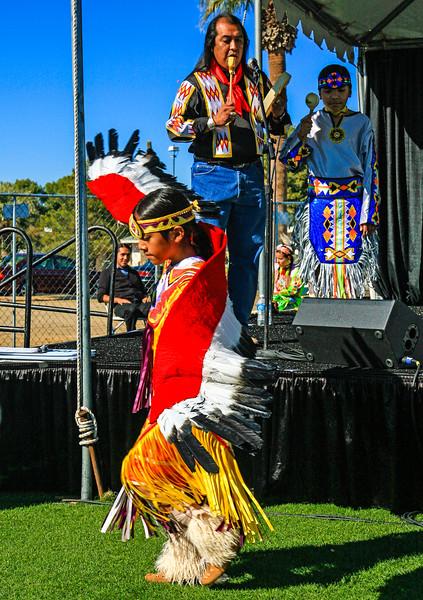 Litchfield, AZ-Arts Festival-Yellow Bird Indian Dancers-2008-120