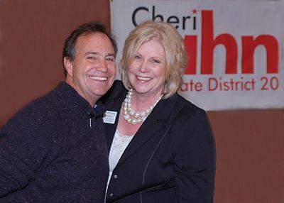Congressman Ed Perlmutter with State Representative and eventual State Senator Cheri Jahn
