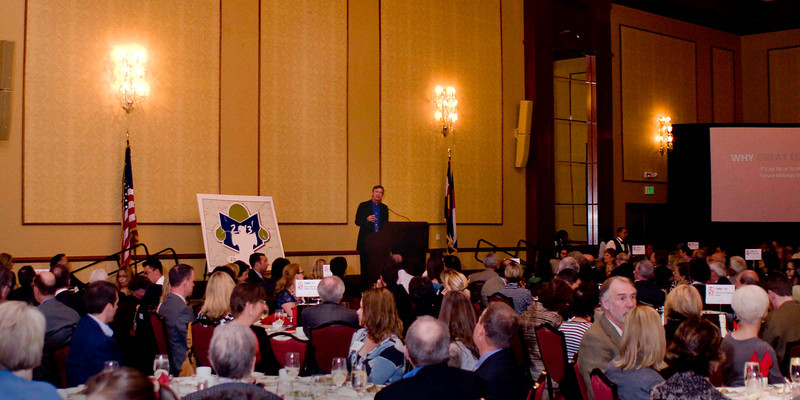 Gov. John Hickenlooper at the 2012 Great Education Colorado Annual  Luncheon