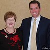 Jefferson County Democrat of the Year, Mary Patee, and former Colorado Speaker of the House of Representatives Andrew Romanoff