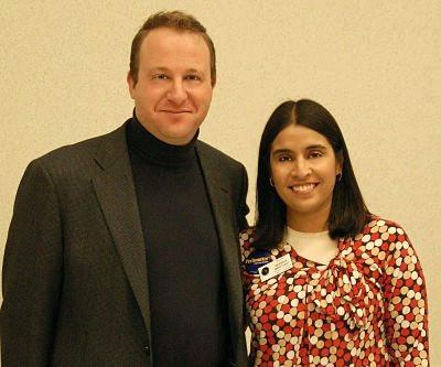 U.S. Rep. Jared Polis & CU Regent Monisha Merchant
