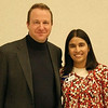 U.S. Rep. Jared Polis & CU Regent Monisha Merchant