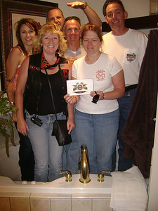 @ freddies house in the tub
