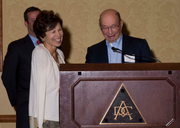 Honoree Elaine Berman & Sam Gary of The Piton Foundation