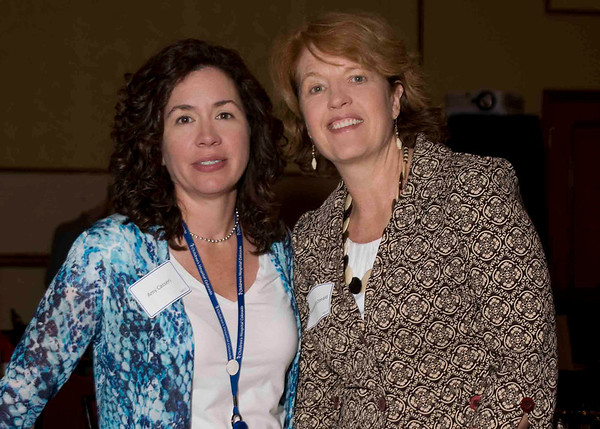 Amy Casseri of Children's Hospital & Maureen McDonald of the Denver Museum of Nature and Science