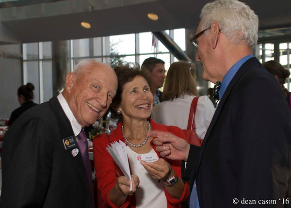 State Senator Rollie Heath, former honoree Elaine Gantz Berman with husband Dr. Steve Berman