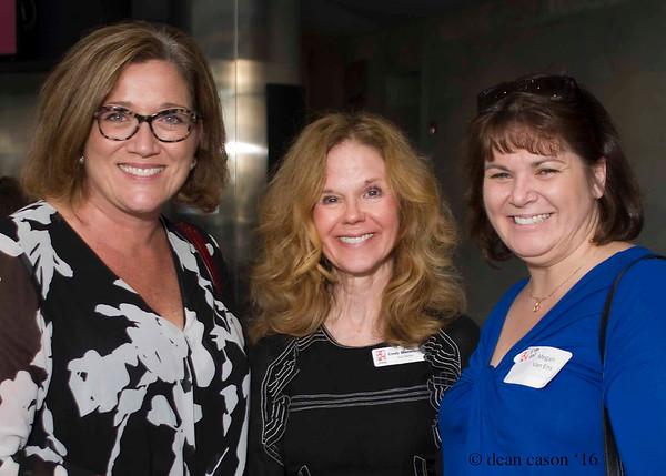 Leslie Dahlkemper, Cindy Stevenson, Megan Van Eng
