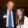 Senator Rollie Heath and Thunder Ridge Freshman Hayley Stromberg