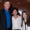 Governor Hickenlooper, Great Ed Executive Director Liane Morrison & Thunder Ridge Freshman Hayley Stromberg