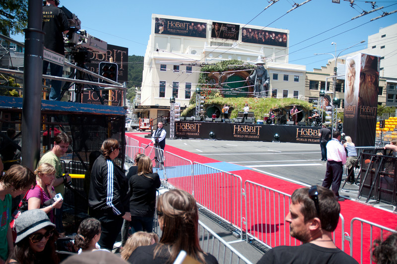 Hobbit Premiere, Wellington