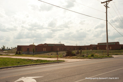 North America, USA, Missouri, Joplin Tornado Destruction Spring 2011, Joplin High School