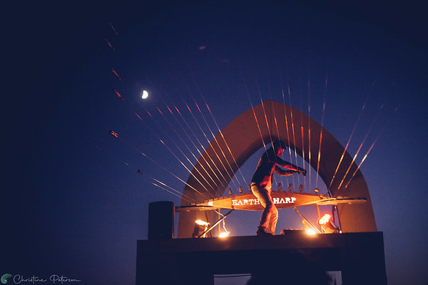 William Close & The Earth Harp