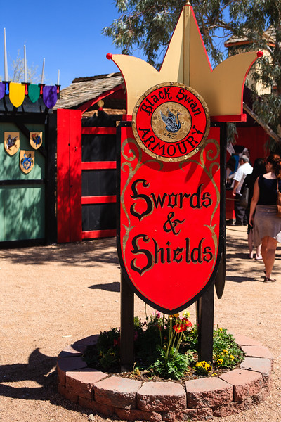 AZ-Apache Junction-Renaissance Festival-2011-03-26-215<br /> <br /> For those wanting to add to their collection of Arms.