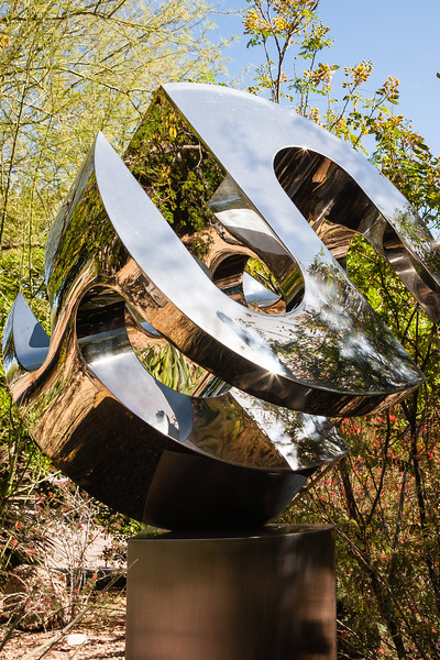 This Piece of Sculpture is Visually Striking.
