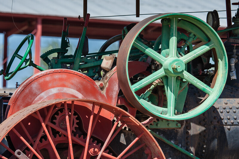 Farm Implements Old and Older...