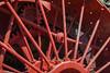 J.I.CASE THRESHING MACHINE CO. - Tractor Wheel and Gears in BG