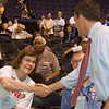 Even Bennet supporters gladly shake Andrew's hand.