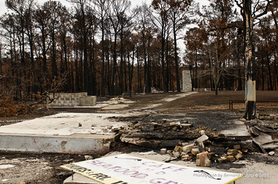 North America, USA, Bastrop Paige,Texas Wildfire 2011, destroyed 35,000 acres and 1,400 homes in Lost Pines area
