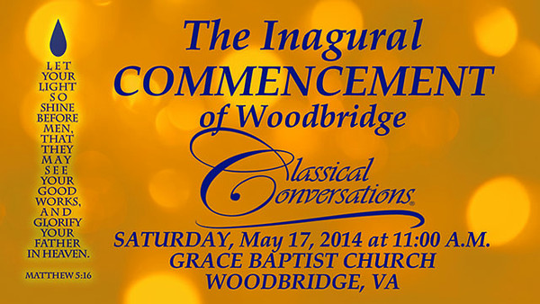 VIDEO: 2014 Woodbridge Classical Conversations Graduation
