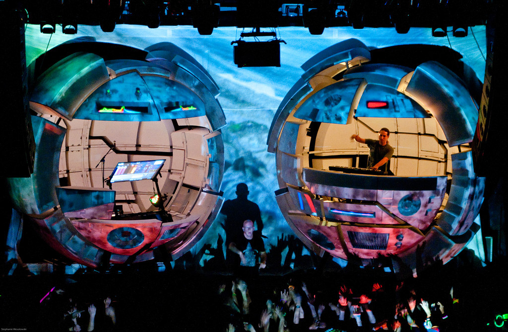 Infected Mushroom at the 9:30 Club