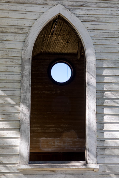 Church Window, Grass Valley