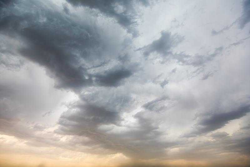 Storm Clouds Over Washington