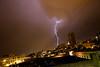 Lightning Strike in Seattle, Washington