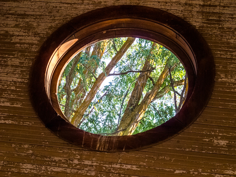 Window in the Natural Cathedral