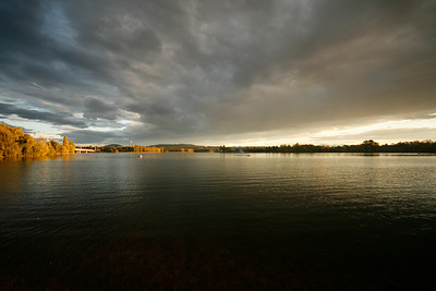"""Autumn""  Lake Burley Griffin - ACT Landscape Image"