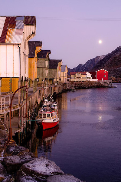 3. Arctic Light in Nyksund<br /> 40x60cm, numbered prints 1 - 100<br /> Price mounted NOK 2900